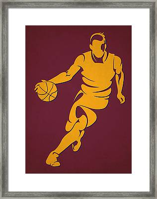 Cavaliers Basketball Player4 Framed Print