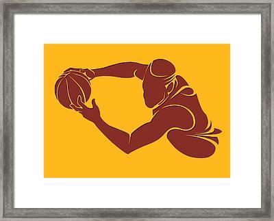 Cavaliers Shadow Player3 Framed Print by Joe Hamilton
