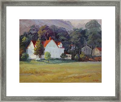 Cavallo Point Framed Print by Carol Smith Myer