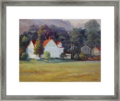 Cavallo Point Framed Print by Carol Smith Myer
