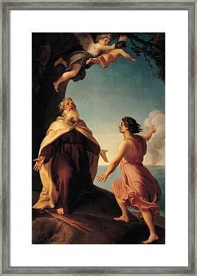 Cavallucci Antonio, Elijah Framed Print by Everett
