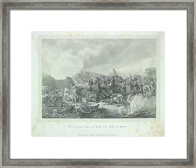Cavalry Charge Framed Print by British Library