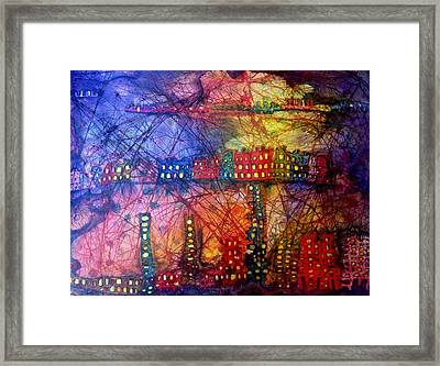 Cave City Framed Print
