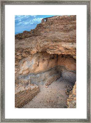 Cave For Supplies Framed Print