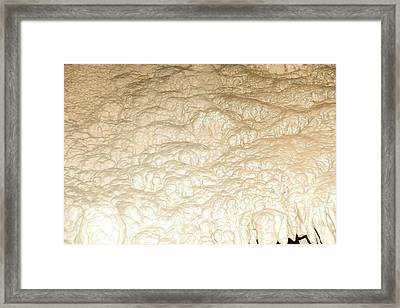 Cave Formation 4 Framed Print by T C Brown