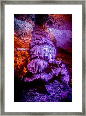 Cave Monster Framed Print