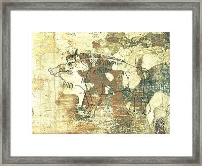 Cave Painting 3 Framed Print