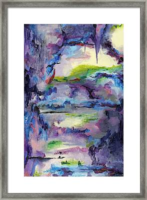 Cave Painting Framed Print