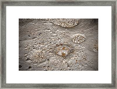 Cave Pearls Framed Print