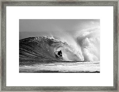 Caveman Framed Print by Paul Topp