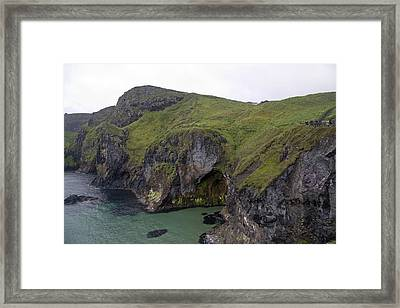 Cavern Carrick-a-rede Ireland Framed Print by Betsy Knapp