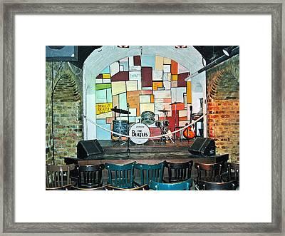 Beatles Cavern Museum Framed Print