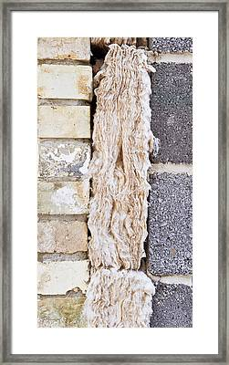 Cavity Insulation Framed Print