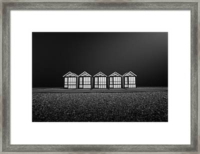 Cayeux Sur Mer- France Framed Print