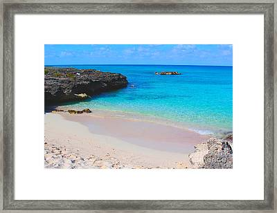 Cayman Paradise Framed Print by Carey Chen