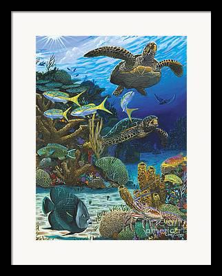 Light Coral Framed Prints