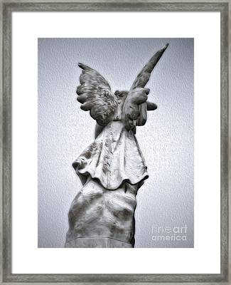 Cayucos Cemetery - 03 Framed Print by Gregory Dyer
