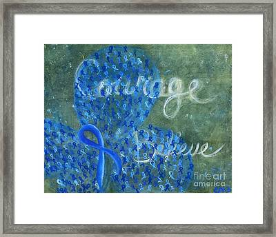 Cc Believe Framed Print by Emily Marie