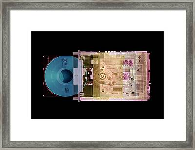 Cd Drive Framed Print