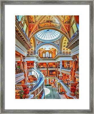 Ceasar's New Palace Framed Print by Paul Mashburn