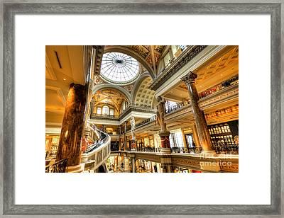 Ceasars Spiral  Framed Print by Rob Hawkins