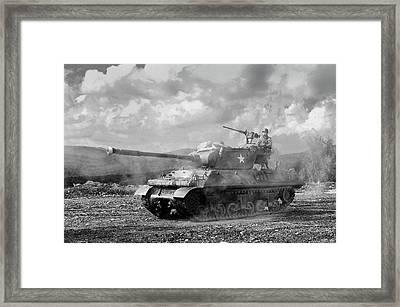 Ceasefire Framed Print by Graham Hawcroft pixsellpix