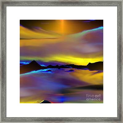Cebu Sunset Framed Print