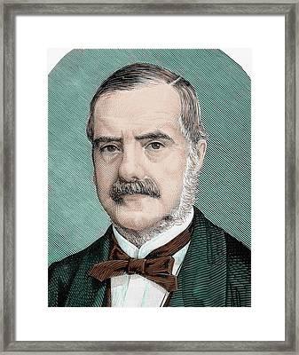 Cecil John Rhodes (1853-1902 Framed Print by Prisma Archivo