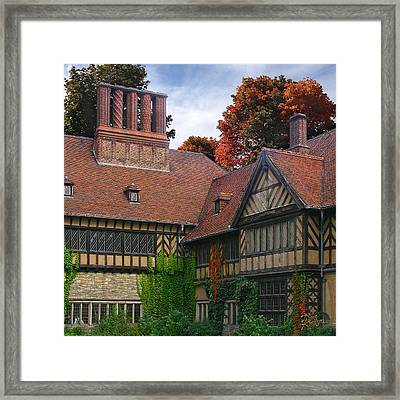 Framed Print featuring the photograph Cecilienhof Palace by Doug Kreuger
