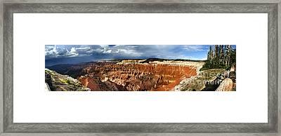 Cedar Breaks Framed Print