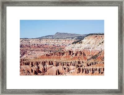 Cedar Breaks Up Close 3 Framed Print