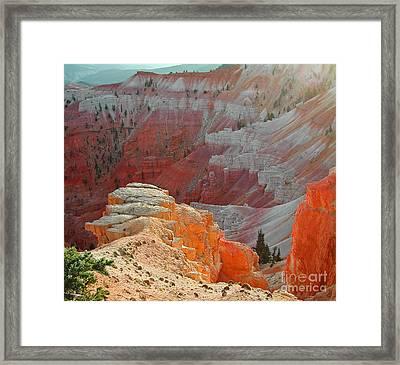 Cedar Breaks Utah Framed Print