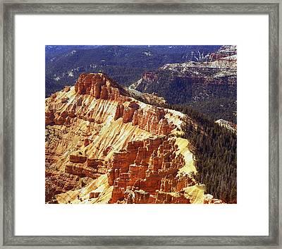 Cedar Breaks Utah Framed Print by Rich Franco