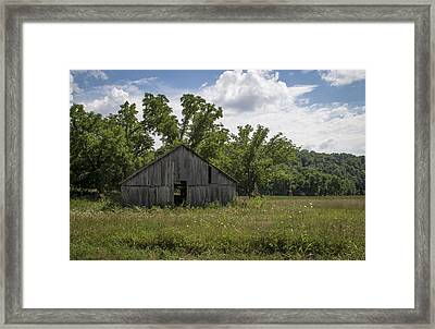 Cedar Creek Barn II Framed Print