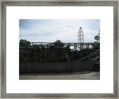 Cedar Point - Cedar Creek Mine Ride - 12121 Framed Print