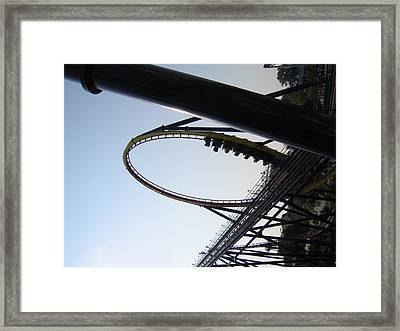 Cedar Point - Mantis - 12124 Framed Print