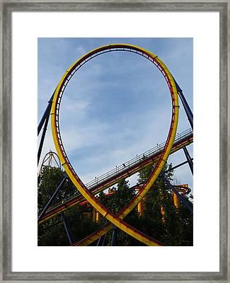Cedar Point - Mantis Loop Framed Print by Shawna Rowe