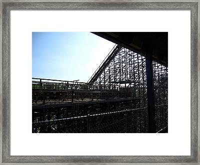 Cedar Point - Mean Streak - 12121 Framed Print