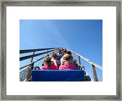 Cedar Point - Mean Streak - 12122 Framed Print by DC Photographer