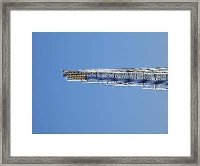 Cedar Point - Millennium Force - 12124 Framed Print