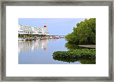 Cedar Point Ohio Framed Print by Frozen in Time Fine Art Photography