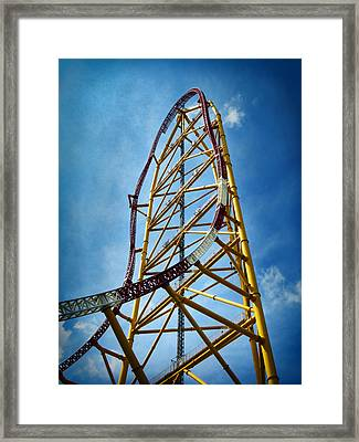 Cedar Point - Top Thrill Dragster Framed Print