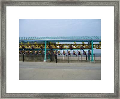 Cedar Point - Wicked Twister - 121211 Framed Print by DC Photographer