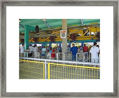 Cedar Point - Wicked Twister - 12123 Framed Print