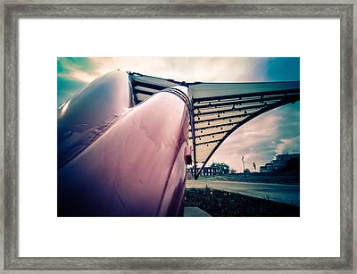 Cedar Rapids Amphitheater Pipes Framed Print