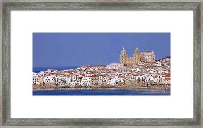 Cefalu Framed Print by Giorgio Darrigo