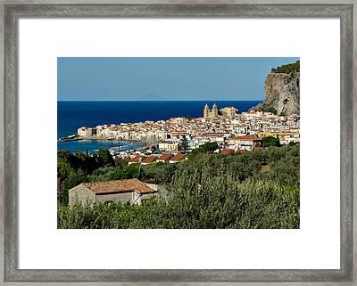 Cefalu Sicily Framed Print