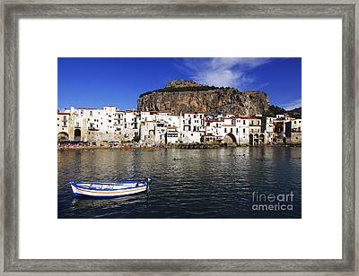 Cefalu - Sicily Framed Print by Stefano Senise