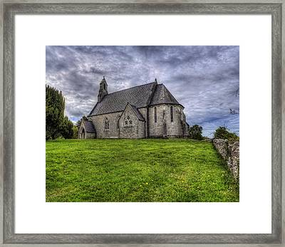 Cefn Meiriadog Parish Church Framed Print by Ian Mitchell