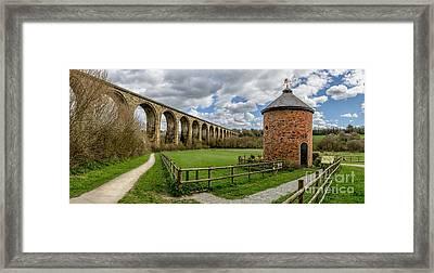 Cefn Viaduct Framed Print by Adrian Evans
